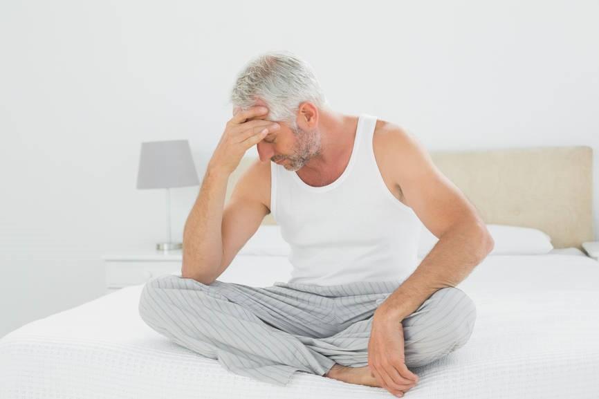 слабость при простатита