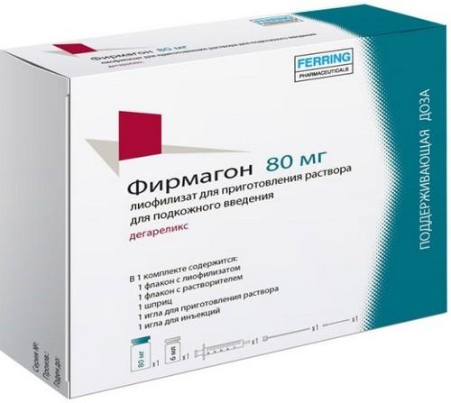 Список препаратов при раке простаты